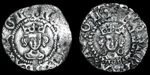 Henry VI - Annulet Halfpennies - London, Calais