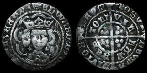 Edward IV - First Reign Groat - Bristol