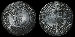 Henry VII - Profile Groat - London