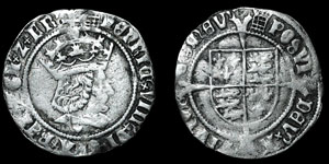 Henry VIII - Profile Groat - London