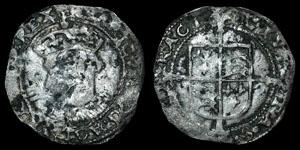 Henry VIII - Facing Bust Groat - York
