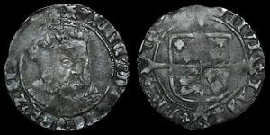 Henry VIII Posthumous - Facing Bust Groat - Bristol - Evenett Bust B