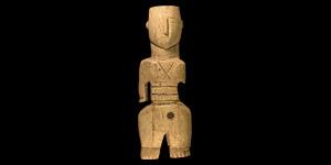 Egyptian Coptic Bone Idol