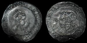Edward VI - Second Period Shilling - MDXLIX (1549) - Tower