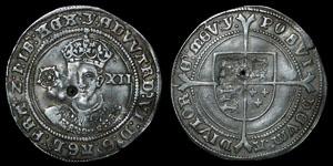 Edward VI - Fine Shilling
