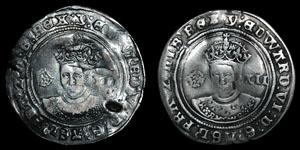 Edward VI - Fine Shillings (2)