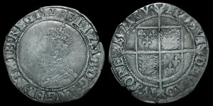 Elizabeth I - Seventh Issue Shilling - 1602