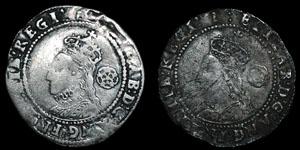 Elizabeth I - Seventh Issue Sixpences (2) - 1601, 1602
