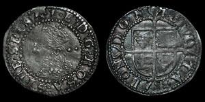 Elizabeth I - Seventh Issue Halfgroat - 1601