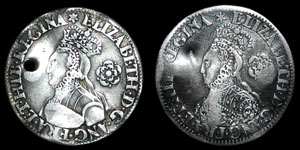 Elizabeth I - Milled Sixpences (2) - 1562