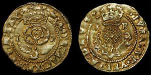 James I - Gold Thistle Crown - Coronet