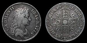 Charles II - Crown - 1671 VECESIMO TERTIO