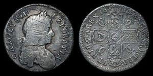 Charles II - Shilling - 1680