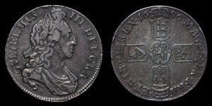 William III - Crown - 1696 OCTAVO