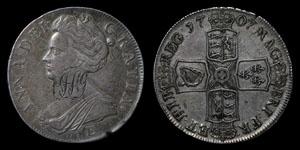 Anne - Edinburgh Crown - 1707E