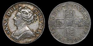 Anne - Shilling - 1708