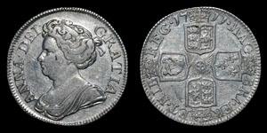 Anne - Shilling - 1711