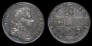 George I - South Sea Company Shilling - 1723SSC