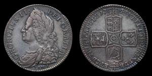 George II - Lima Halfcrown - 1745