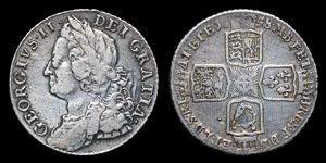 George II - Shilling - 1758