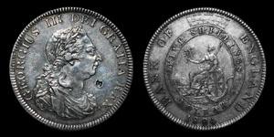 George III - Five Shilling Bank Token - 1804