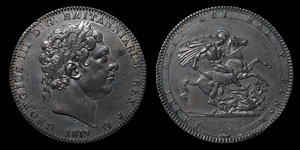 George III - Crown - 1819 (LIX)