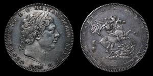 George III - Crown - 1820 (LX)