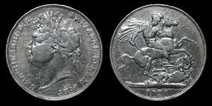 George IV - Crown - 1821