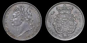 George IV - Shilling - 1821