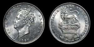George IV - Shilling - 1826