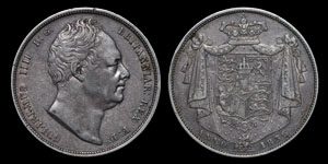 William IV - Halfcrown - 1836