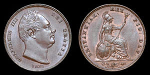 William IV - Farthing - 1835