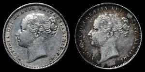 Victoria - Shillings(2) - 1881, 1884