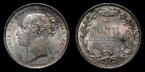 Victoria - Shilling - 1885