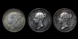 Victoria - Sixpences(3) - 1838, 1855, 1879