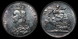 Victoria - Crown - 1889