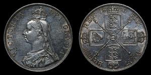 Victoria - Double Florin - 1890