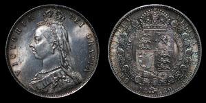Victoria - Halfcrown - 1889