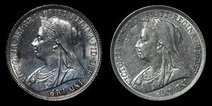 Victoria - Shillings(2) - 1893, 1894