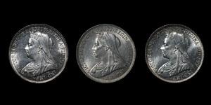 Victoria - Shillings(3) - 1897, 1898, 1901