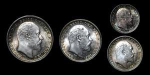 Edward VII - Maundy Set(4) - 1903