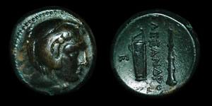 Greece - Macedonia - Alexander III - AE 4 Chalkoi