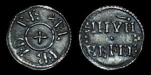 British Viking - Alfred Imitation - Two Line Penny - Sinun