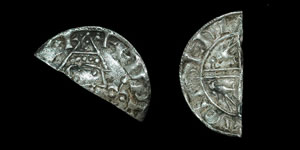 British Anglo-Saxon - Edward the Confessor - Unique Helmet/Sovereign Mule