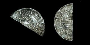 British Anglo-Saxon - Edward the Confessor - Unique Helmet/Sovereign Mule