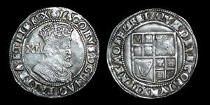 English Stuart - James I - Shilling