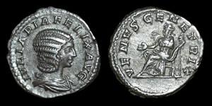 Roman Empire - Julia Domna - Denarius