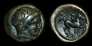 Greece - Macedonia - Philipp II - AE Half Unit