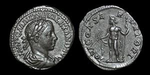 Roman Empire - Severus Alexander - Denarius
