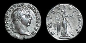 Roman Empire - Trajan - Denarius
